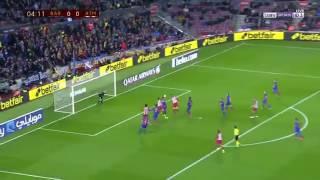 ملخص وأهداف مباراة برشلونة ضد أتلتيكو مدريد يوم(7/2/2017)