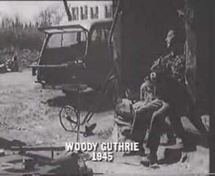 Woody Guthrie - 1945 Video