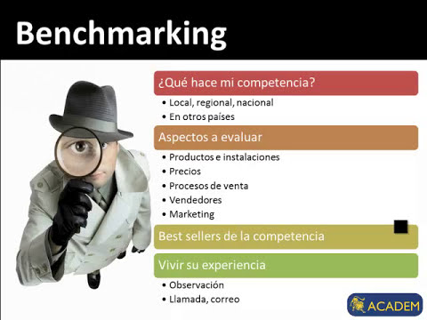 Que Es El Benchmarking: Curso de Marketing
