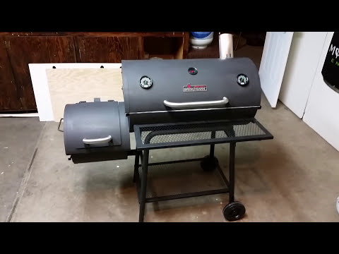 Brinkmann Mini Offset Smoker Mods