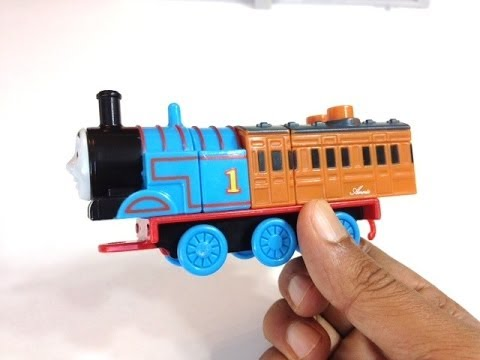 Thomas And Friends Mega Bloks Thomas The Tank Engine And Annie With A Cart - Pleasecheckout Channel video