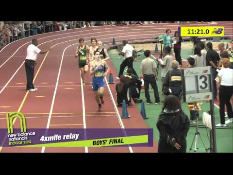B 4xMile H03 (Chariho Tc-Ri 17:20.20N *National Record, HS Indoor Nationals 2012)