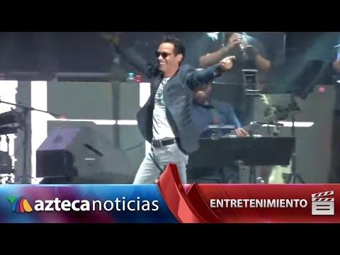 Concierto: Mark Anthony, Rubén Blades y Carlos Vives conquistan el zócalo