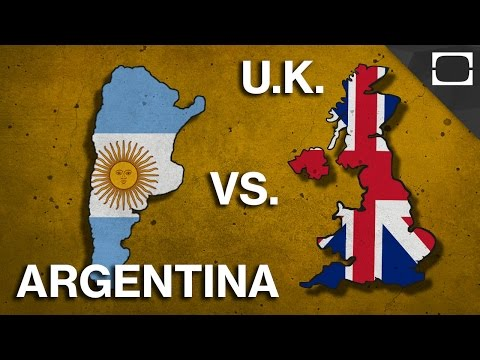 Why Do The UK And Argentina Hate Each Other?