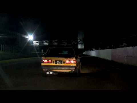 Toyota KE70 Turbo Drag & Drift on Sprint Track