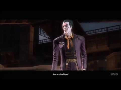 Injustice: Gods Among Us - Joker VS Harley Quinn (Story Battle 14) [HD]
