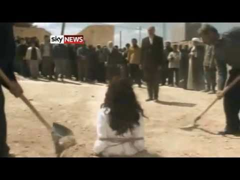 WOMEN STONED TO DEATH