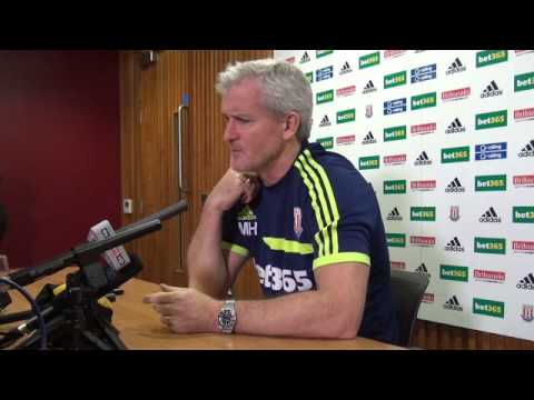 Mark Hughes Press Conference: Tottenham Hotspur
