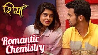 Bhushan & Sanskruti's Onscreen Chemistry | Shooting A Romantic Song | Shivya Marathi Movie