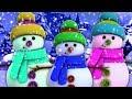 Снеговики палец семья | рождественские колядки | семья палец песня | Snowmen Song | Finger Family