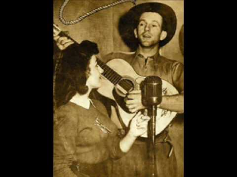 Dreaming With Tears In My Eyes  --   Tex Morton video