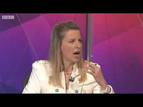 Katie Hopkins on BBCQT - Women Can't 'Handle'...