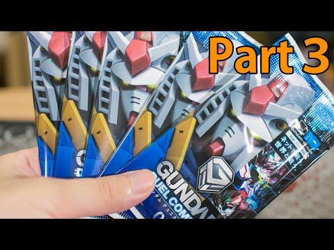 3回目!ガンダムデュエルカンパニーのリアルカードを開封!Gundam Duel Company リアルアンパンマン 動画