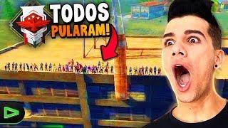 50 PESSOAS PULANDO DA FACTORY!! TODOS PULARAM!?!?!!