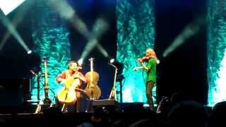 Julie Nelson Wife Of Steven Sharp Nelson With The Piano Guys At Energy Solutions Arena