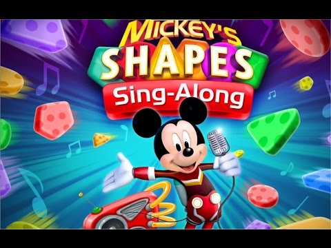 Mickey's Shapes Sing-Along App for Kids by Disney Imagicademy