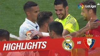 Resumen de Real Madrid vs Osasuna (5-2)