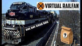 At the end, #90s whistle will melt any railfans heart! Virtual Railfan Grab Bag 2/15/2020