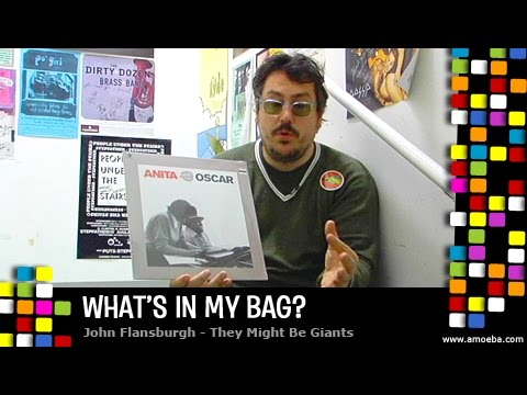 John Flansburgh (They Might Be Giants) - What's In My Bag?