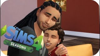 Father Son Bonding -Let's Play: The Sims 4 SEASONS (Part 9)