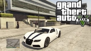 "GTA 5 Secret Cars - ""Adder"" (Bugatti Veyron) (GTA V)"