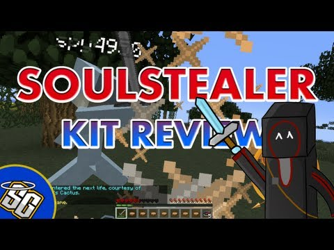 MCPVP.com | Review #48 SOULSTEALER Kit Review | Minecraft Hardcore Games