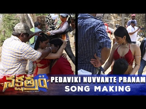 Pedaviki Nuvvante Pranam Song Making - Nakshatram Movie - Sundeep Kishan, Regina