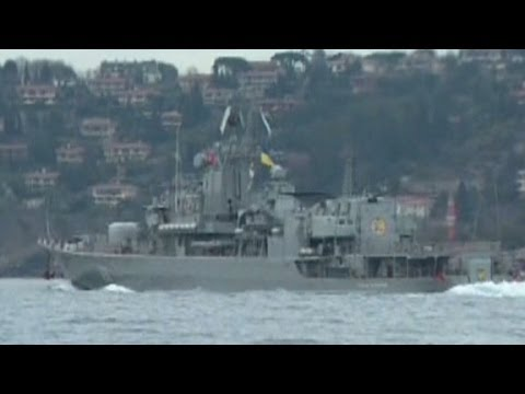 Ukrainian warship headed to Black Sea