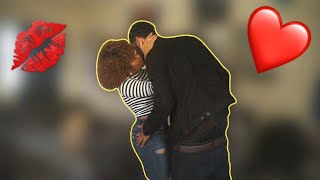 I CAN'T STOP KISSING YOU PRANK ON BOYFRIEND ?