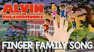 Alvin and the Chipmunks Finger Family Song
