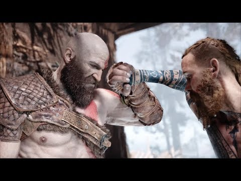 God Of War - Kratos vs. The Stranger Boss Fight