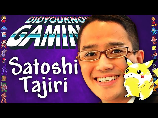 Satoshi Tajiri How Pokemon Became the Biggest Media Brand in History - Did You Know Gaming Ft Furst