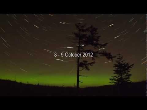Northern Lights Skye Northern Lights Over Donegal