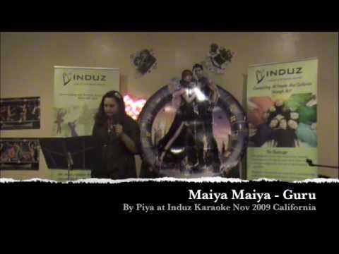 Induz Karaoke - Mayya Mayya by Piya