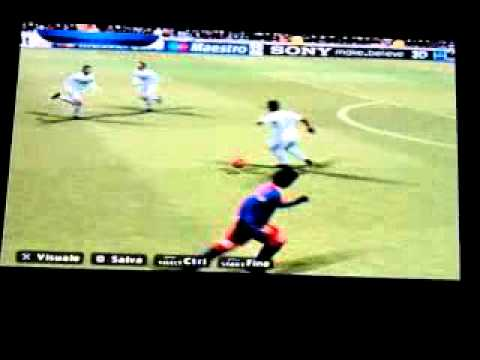 Gol incredibile messi al real pes 2011