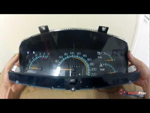 Holden Commodore VR VS Speedo Gear Replacement Tutorial.wmv