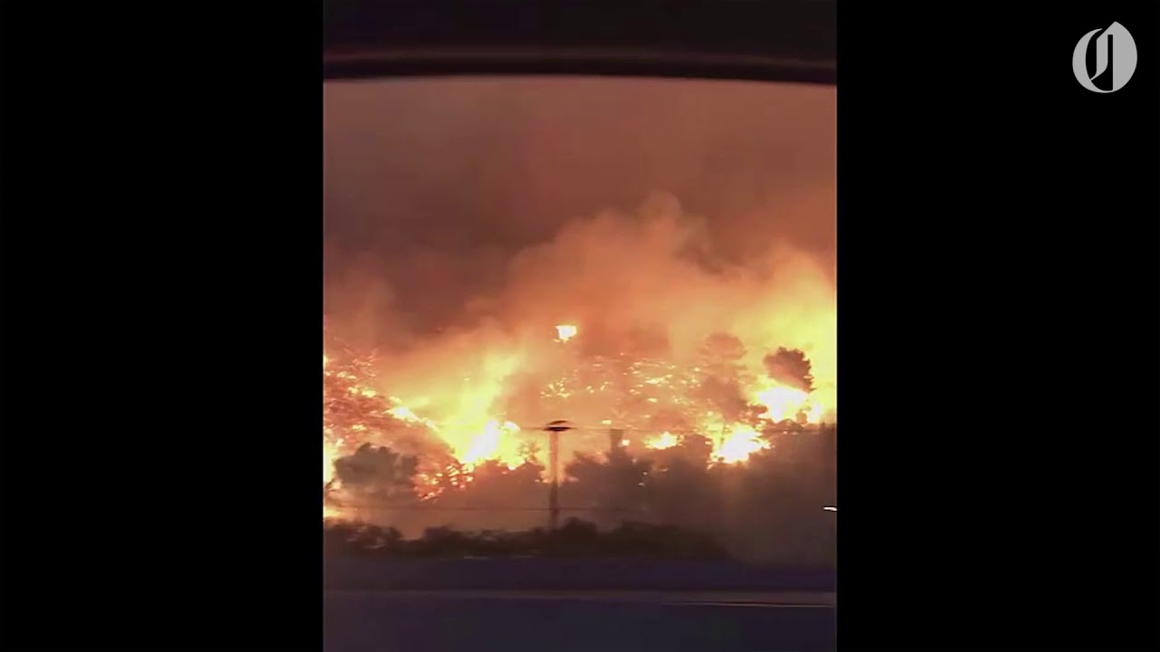 Firefighters Struggling To Contain California Fires