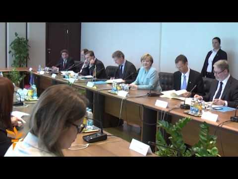 Merkel Wraps Up Balkan Tour