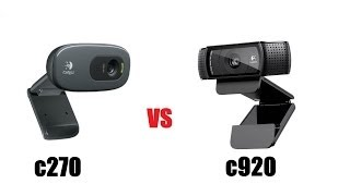 LOGITECH C920 v C270 WEBCAMS  Unboxing & Review
