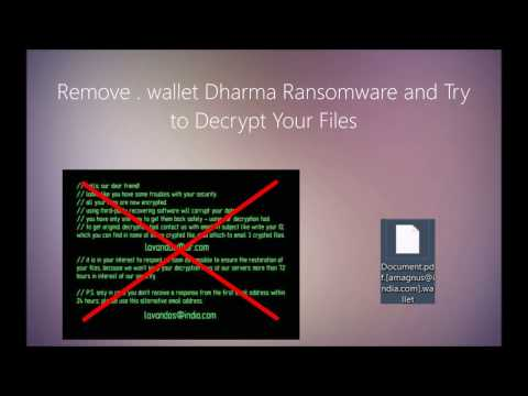 How to Remove .Wallet Files Virus