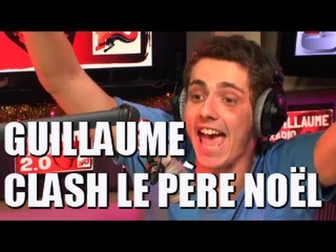 Guillaume clash le père Noël en direct