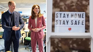 video: Duke and Duchess of Cambridge voice national mental health campaign: 'We're in this together'