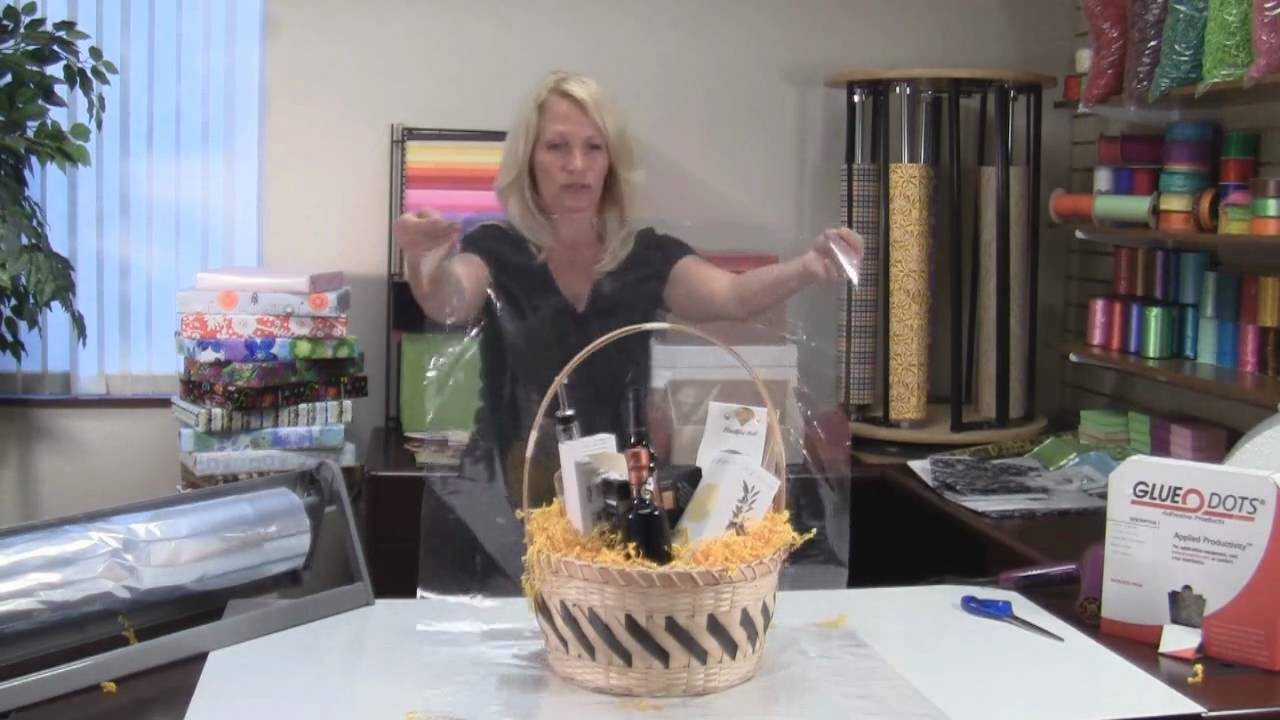 Premier Packaging How To Make A Gift Basket Youtube