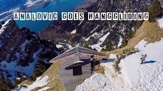 Analovic goes Hanggliding