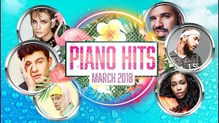 Download Lagu Piano Hits Pop Songs March 2018 : Over 1 hour of Billboard hits - music for classroom ,studying Gratis STAFABAND