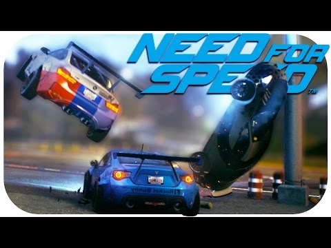 NEED FOR SPEED (2015) EPIC FAILS & GLITCHES (NFS 2015 Funny Moments Part 1)