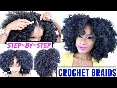 How To: Crochet Braids Step-by-Step Tutorial   X-Pression Cuevana Bounce