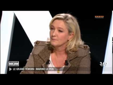 REMARQUABLE PRESTATION DE MARINE LE PEN FACE AUX 2 ERIC ( ZEMMOUR ET NAULLEAU )