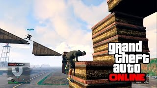 GTA V PS4 Online Parkour $$$$$$$$ | GTA 5 Deathmatch