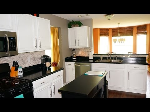 How to Paint Your Kitchen Cabinets - DIY